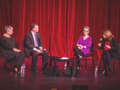 Institute Partners with ESA, Hosts Senator Barbara Boxer