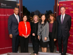 LA County's top three leaders – all of whom are women – convene at The Price School of Public Policy