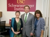 Ellen Hanak- Center Director, PPIC Water Policy Center, Arnold Schwarzenegger, Bonnie Reiss - Global Director, USC Schwarzenegger Institute