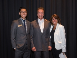USC Environmental Student Assembly Hosts Governator
