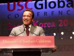 Schwarzenegger Institute Goes to South Korea