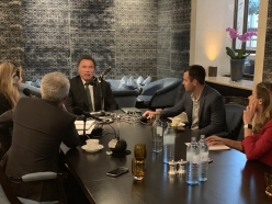 Live from Vienna: Julia, Brandon and Shane Podcast the R20 Austrian World Summit